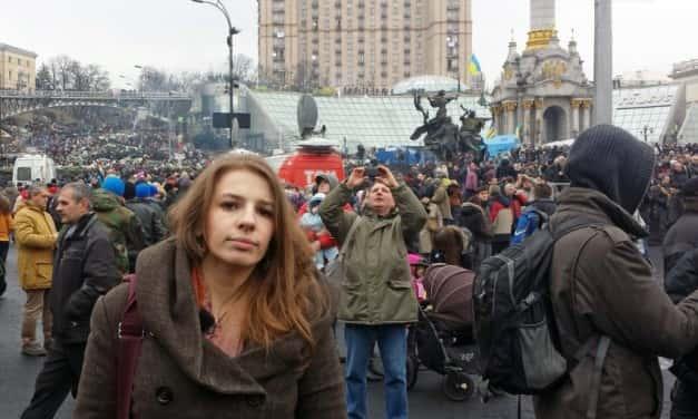 """Marina Weisband in Kiew: """"Viele sind frustriert von Europa"""""""