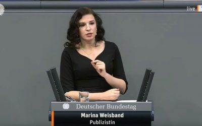 Rede im Bundestag zum Holocaustgedenktag 2021